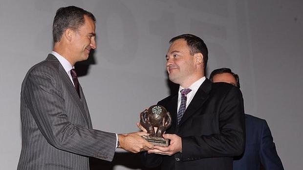 Don Felipe entrega los premios Cepyme