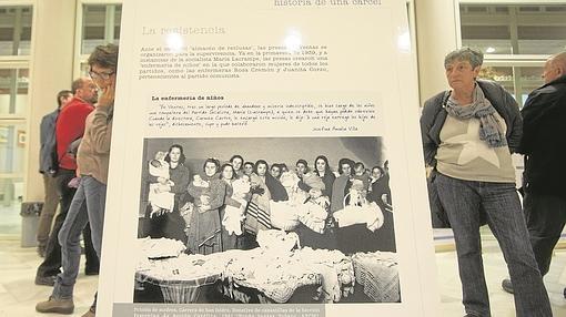 Una de las imágenes de la exposición que se exhibe en el Centro Cultural Quinta del