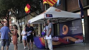 Sociedad Civil Catalana convoca una concentración contra la resolución separatista