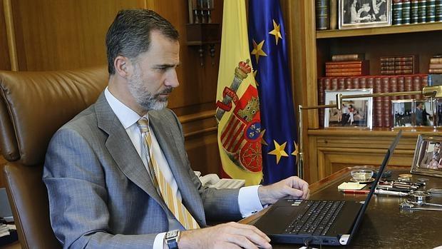 El Rey seguirá desde su despacho de La Zarzuela los acontecimientos sobre Cataluña
