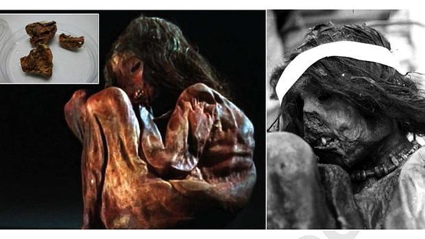 Momia del niño inca de 7 años cuyo ADN mitocondrial han analizado científicos españoles