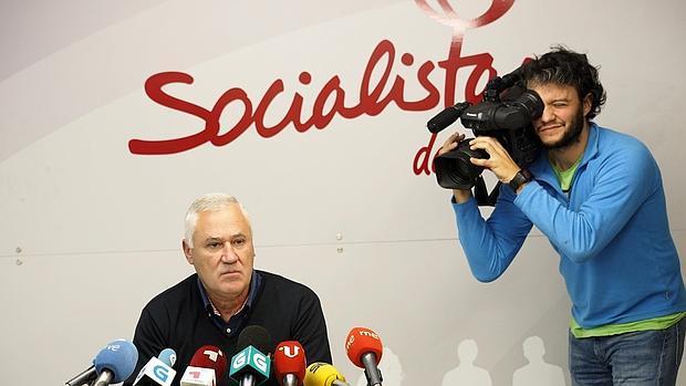 Manuel Martínez, alcalde socialista de Becerreá al que Ferraz ha expulsado