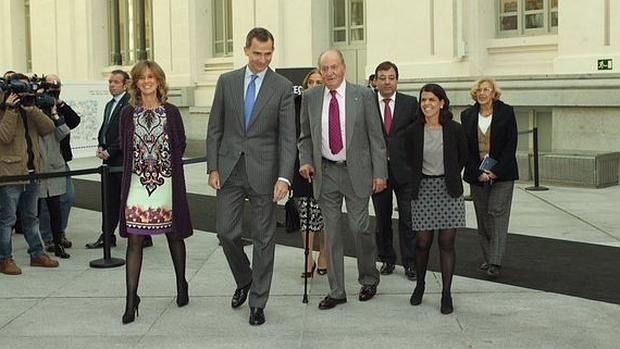 El Rey rinde homenaje a Don Juan Carlos