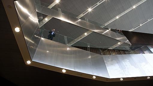 Imagen tomada en el interior de la construcción