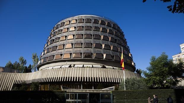 La sede del TC, en Madrid