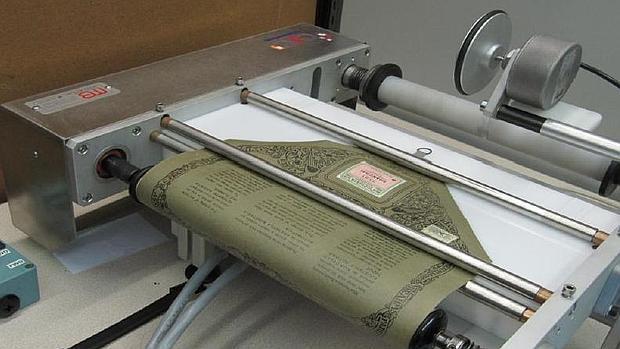 Proces de digitalización de un rollo de pianola