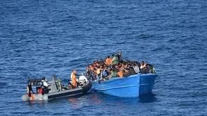 Militares españoles rescatan en el Mediterráneo a 286 inmigrantes frente a la costa libia