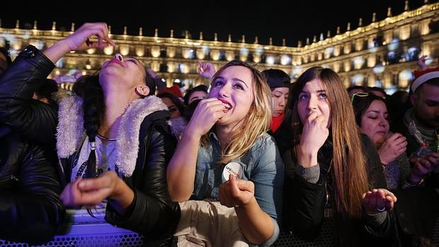 El acto congregó a cerca de 45.000 jóvenes