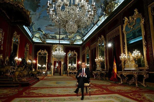 Por qu el rey habl desde el palacio real for Ministerio de interior madrid