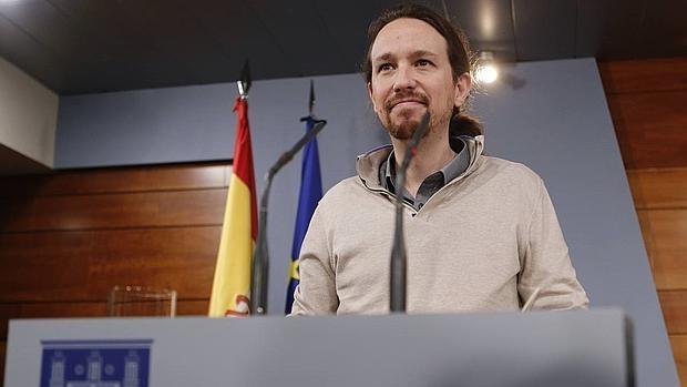 Pablo Iglesias comparece en la Moncloa