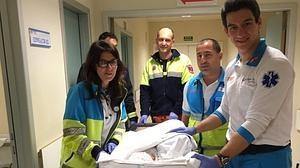 Rescatan a una recién nacida abandonada en un cuarto de contadores en Algete