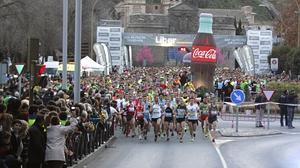 Iván Galán y Sonia Ruiz ganan la San Silvestre toledana