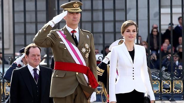 Los Reyes presiden la Pascua Militar