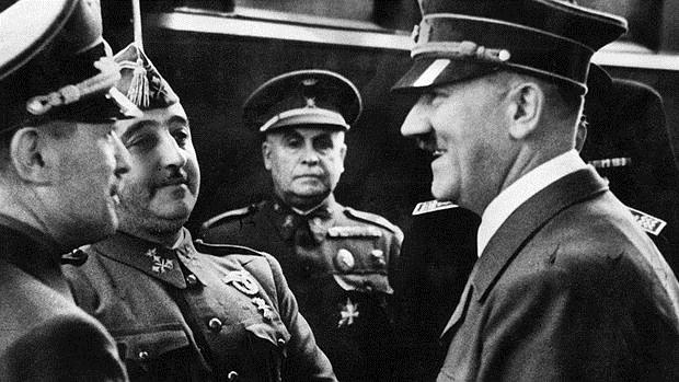 Hitler y Franco en España