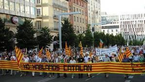 Imagen de archivo de una manifestación convocada por esta plataforma