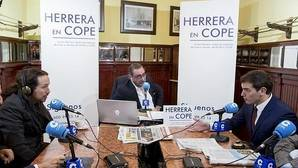 Cruce de reproches entre Iglesias y Rivera en «Herrera en Cope»