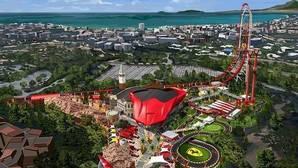 PortAventura muestra nuevas imágenes de Ferrari Land