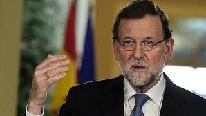 Rajoy y dirigentes populares en la Junta Directiva del PP en Córdoba