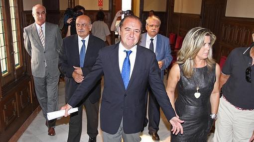 Imagen de José Joaquín Ripoll tras su detención en 2010