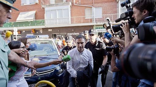 Imagen de Serafín Castellano el día de su detención