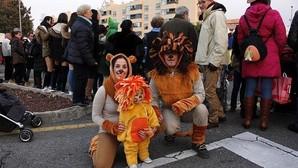 Los niños, protagonistas en la fiesta de los barrios