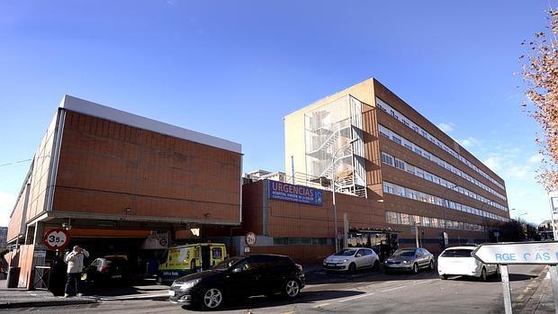 Fachada norte del hospital de Toledo