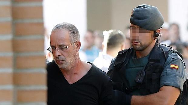 El presunto asesino de Eva Blanco, Ahmed Chelh, el último día que declaró ante la juez