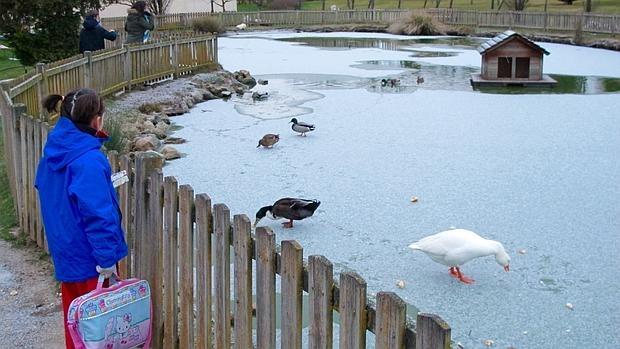 Nieve y hielo en Ávila