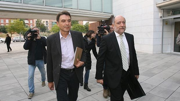 El consejero de justicia justifica la recolocaci n del for Juzgados el vendrell