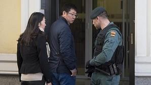 La Guardia Civil, a las puertas del banco registrado