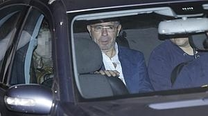 Francisco Granados, trasladado a los juzgados unos días después de su detención, en octubre de 2014
