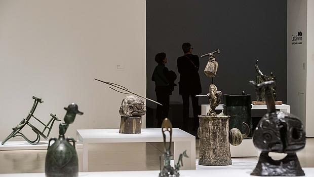 Obras en la muestra «Miró y el objeto»