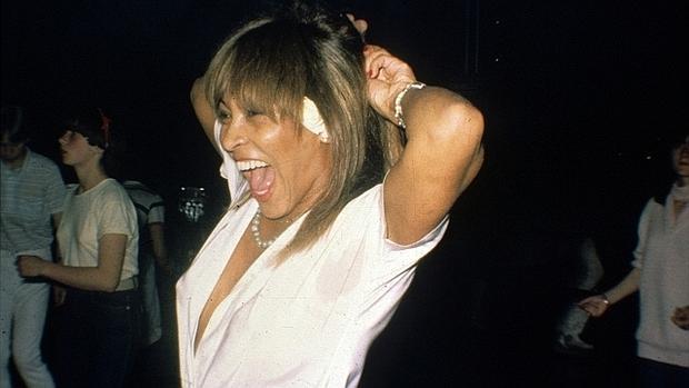 Tina Turner, en la discoteca Joy Eslava