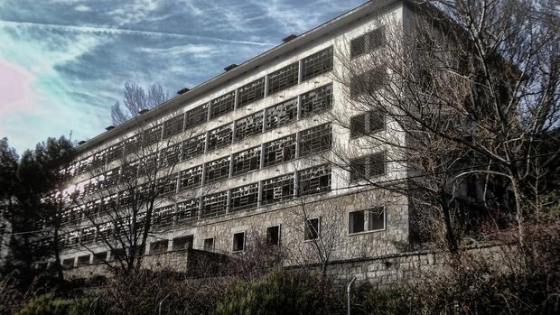 Sanatorio de la Barranca, en Navacerrada
