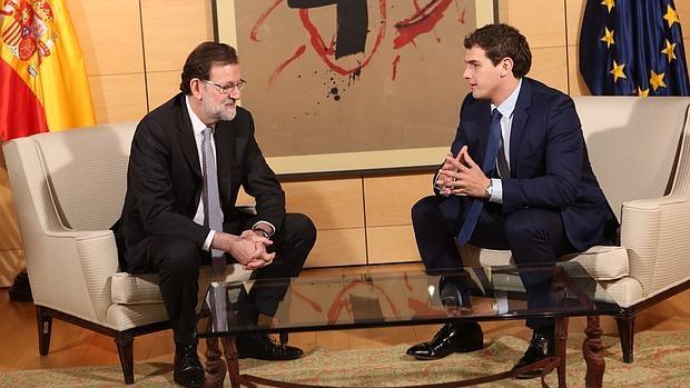Carta de Rajoy a Rivera: «Espero que comprendas que yo no me sume a este acuerdo»