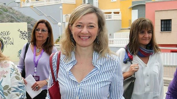 Virginia Rosell, diputada de Podemos