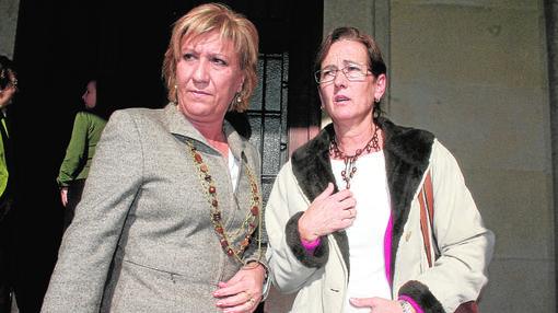 Imagen de archivo de Antonia Graells (a la derecha)