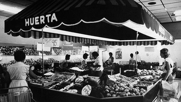 Imagen de la antigua sección de frutas y verduras de Mercadona