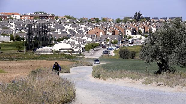 Camino que une el Señorio de Illescas con el pueblo