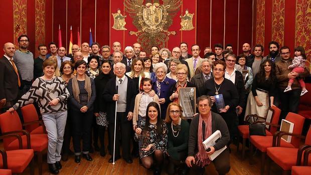 El acto se celebró en la Sala Capitular del Ayuntamiento de Toledo