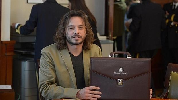 Miguel Vila ejerció de cámara para la Televisión del Congreso durante cinco años
