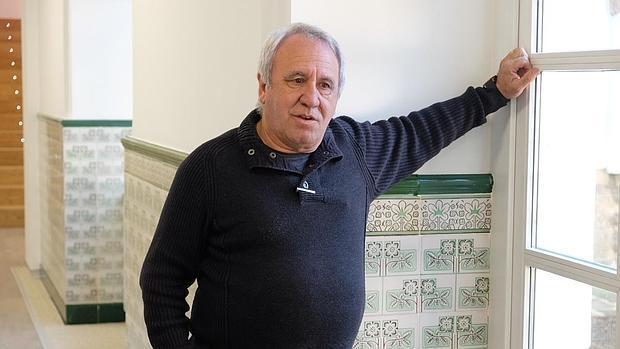El sacerdote Jaume Alemany, que realiza el Camino de Santiago con presos de Mallorca