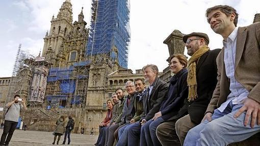 Imagen del viaje de Ribó a Galicia
