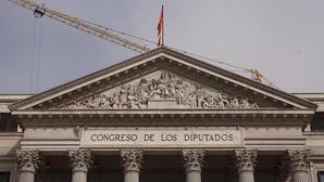 Imagen de archivo del Congreso con el rótulo que quiere eliminar Compromís