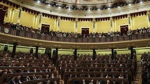 Imagen del Congreso de los diputados en la sesión de investidura
