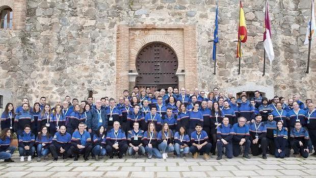 La Junta Nacional de la OJE se ha reunido en el Castillo de San Servando