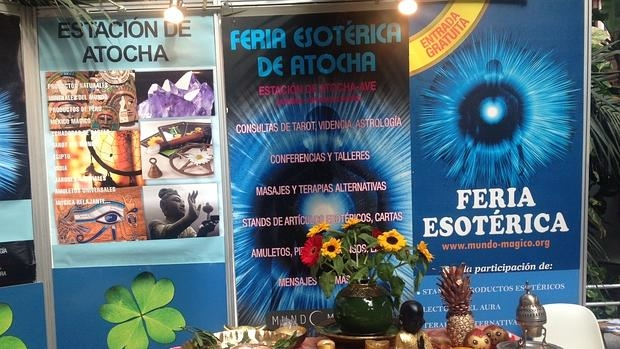 La feria se celebra en el Invernadero de la Estación de Atocha