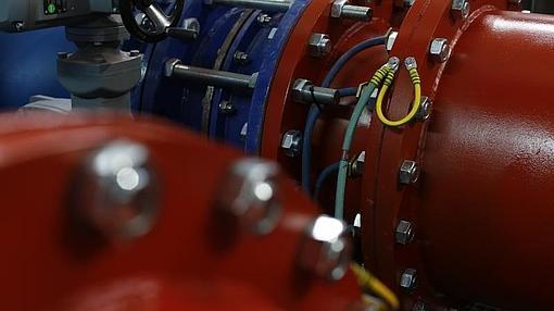 Microturbinas instaladas en la ETAP de Majadahonda