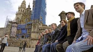 Imagen de Ribó y Colau junto a otros alcaldes en las jornadas celebradas en noviembre en La Coruña