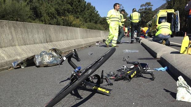Resultado de imagen de ciclista atropellado
